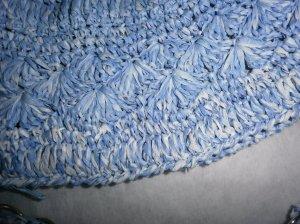 Detalle del bolso a crochet